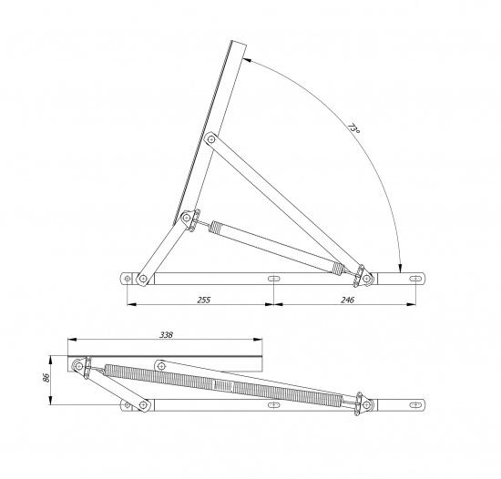 Механизм МПО-142 (с пружиной)-3