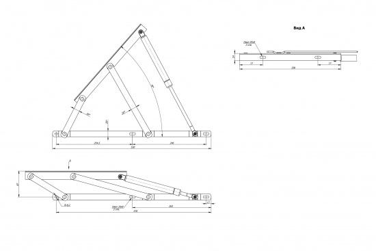Механизм МПО-142 (с газлифтом)-3