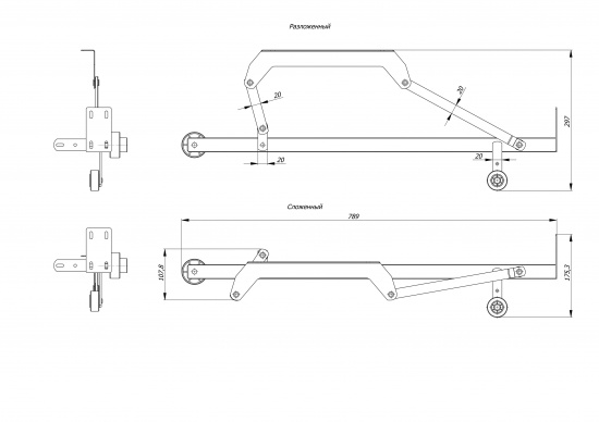 Механизм МТС-11 (Дельфин)-3
